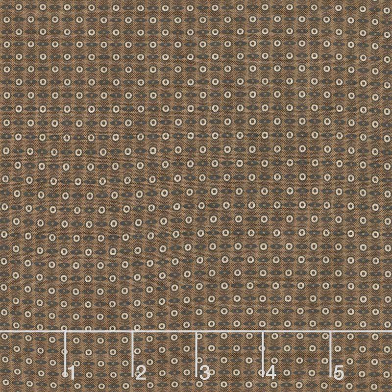 Cheddar & Chocolate - Cobblestones Brown Yardage