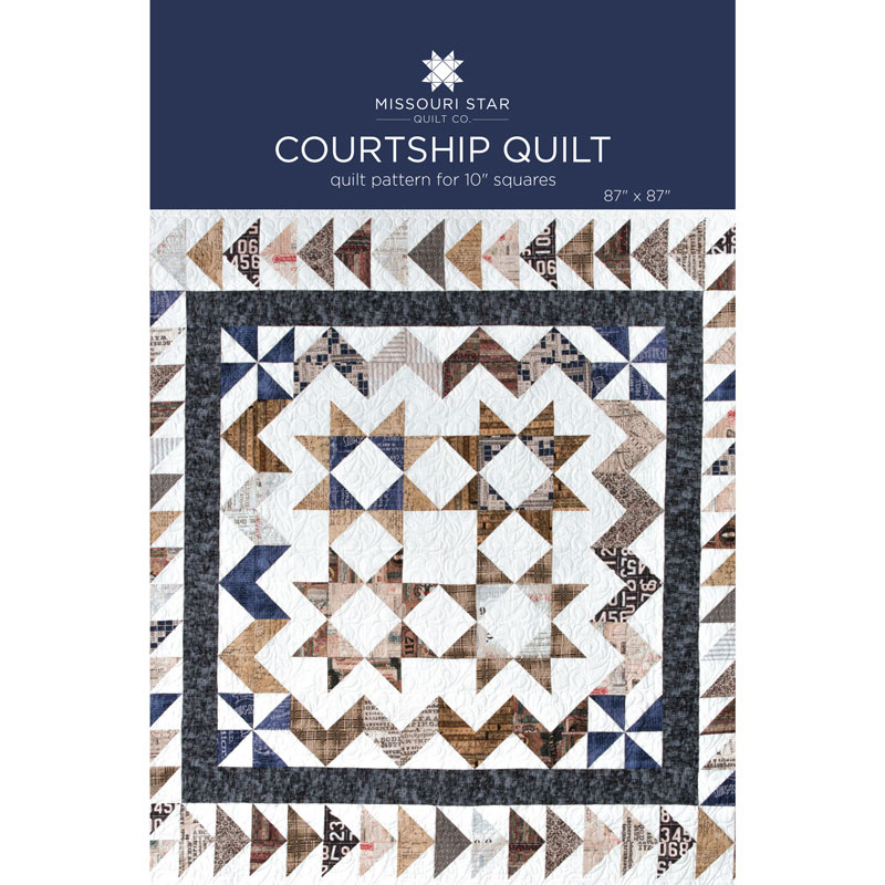 Courtship Quilt Pattern by MSQC - MSQC - MSQC — Missouri Star ... : missouri star quilt company forum - Adamdwight.com
