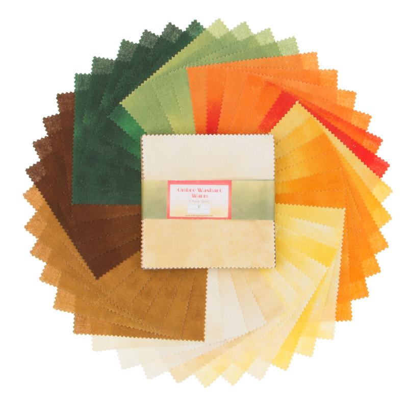 Wilmington Essentials - Ombre Washart Warm 5 Karat Gems