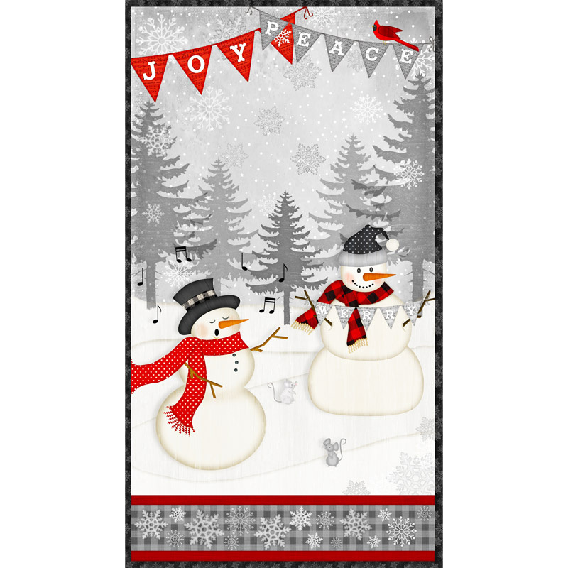 Snowy Wishes - Large Multi Panel