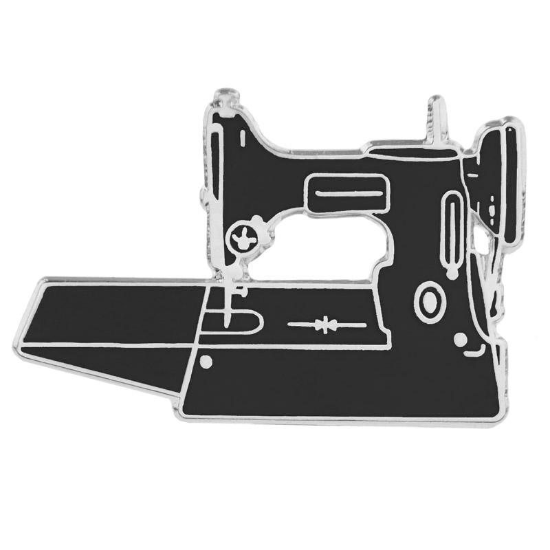 Lightweight Machine Pin - Black