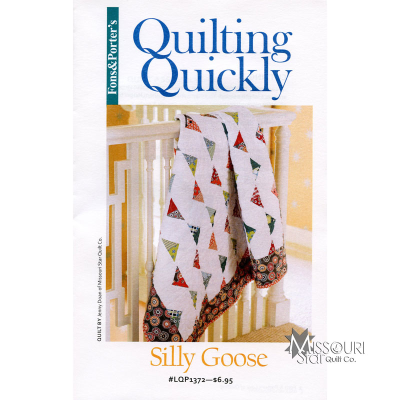 Silly Goose Quilt Pattern - Fons & Porter — Missouri Star Quilt Co. : silly goose quilt pattern - Adamdwight.com