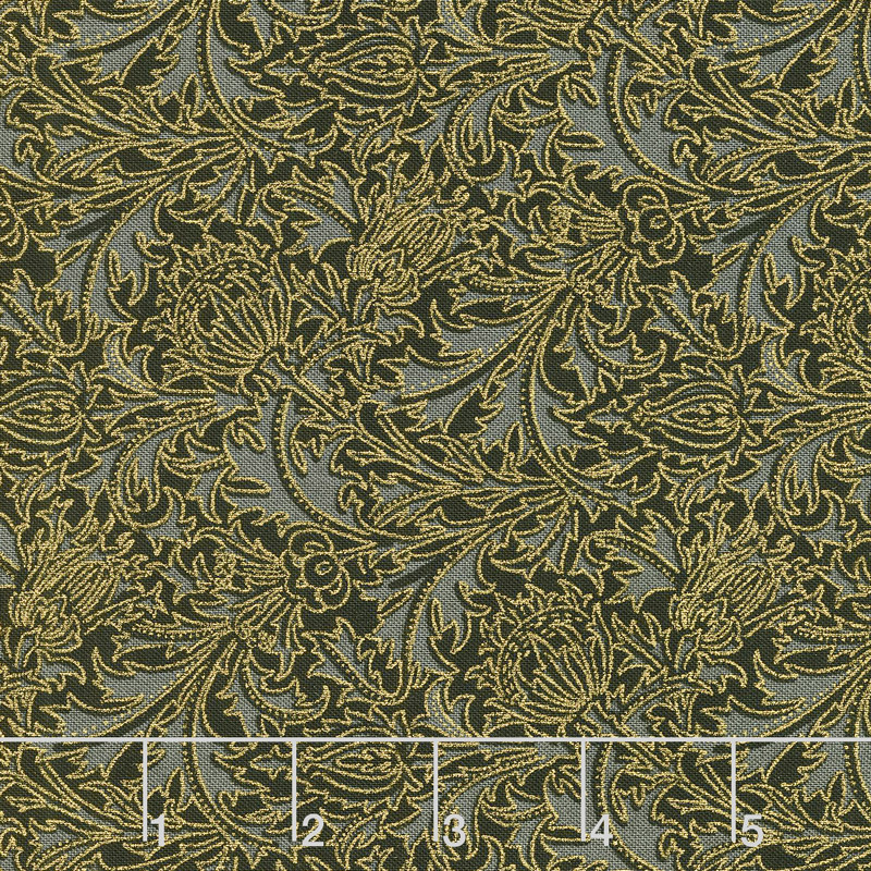 Morris Holiday 1897 - Thistle Ebony 108