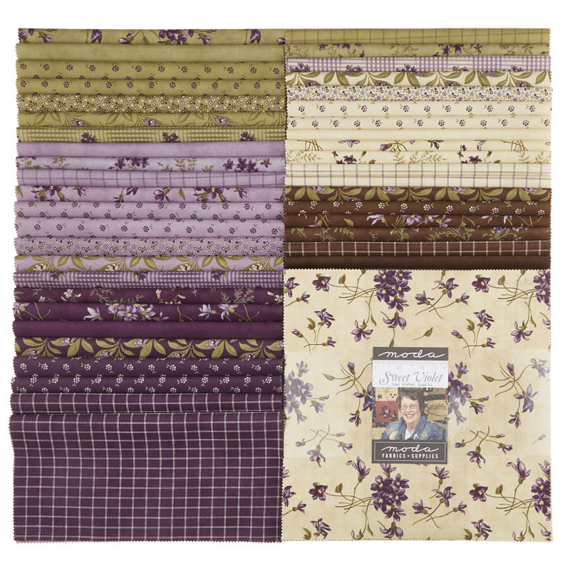 Sweet Violet Layer Cake Jan Patek Quilts Moda Fabrics