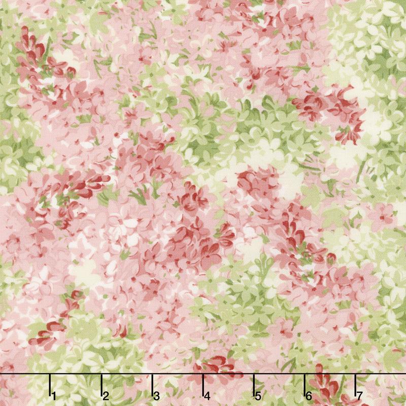 Sensibility - Packed Lilacs Pink Yardage