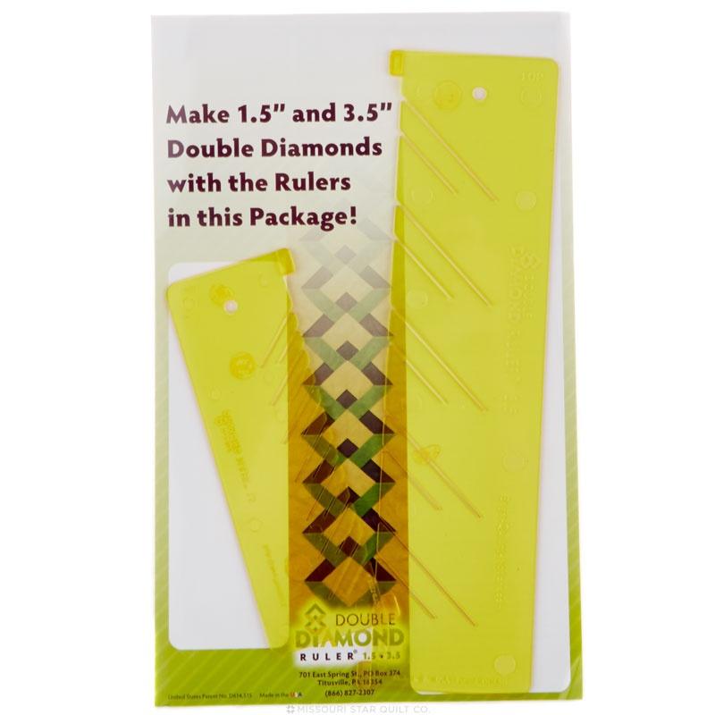 Double Diamond Ruler