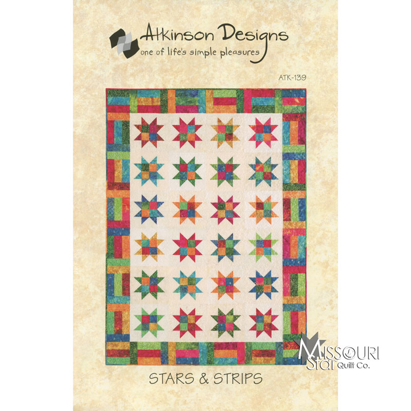 Stars & Strips Jelly Roll Quilt Pattern