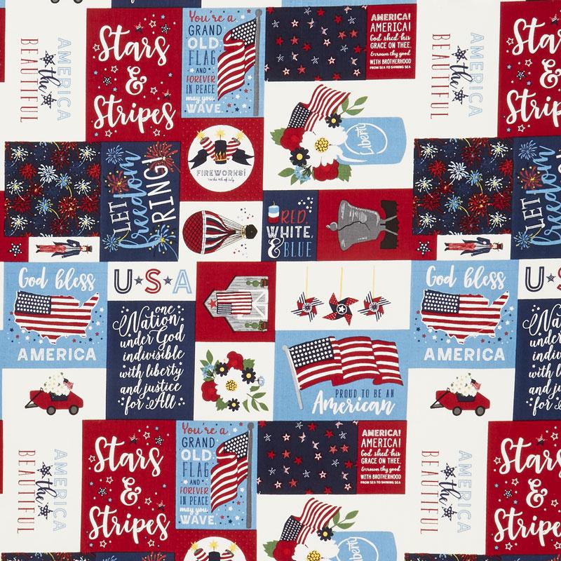 Celebrate America! - Main Multi Yardage