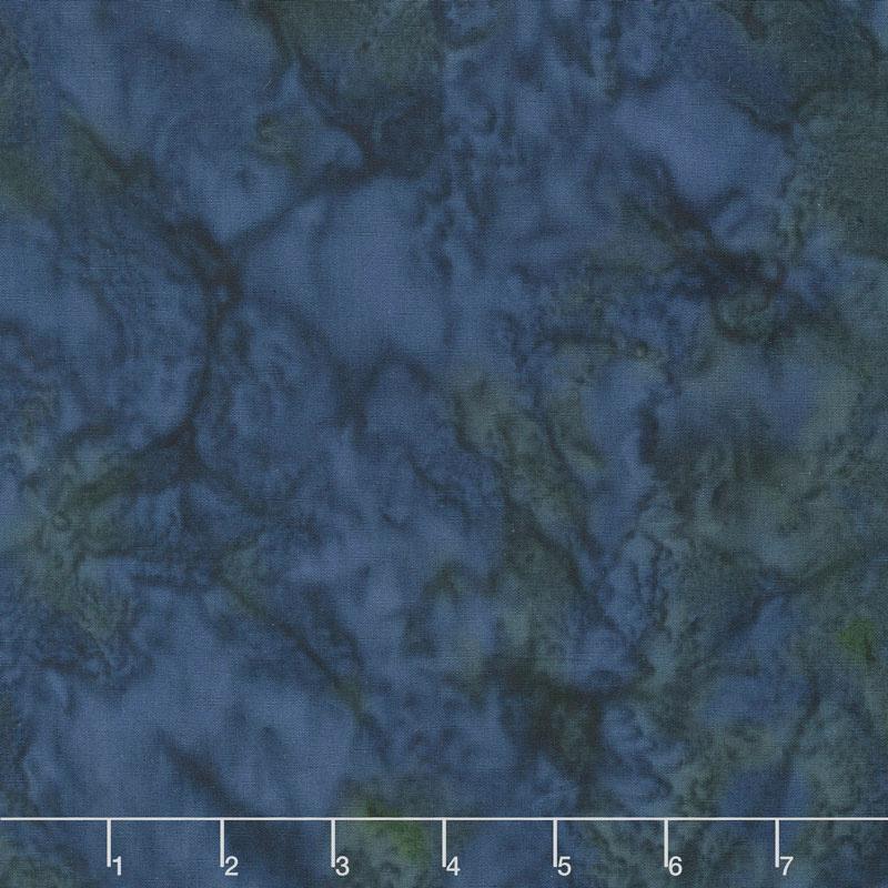 Lava Batik Solids - Everglade Yardage