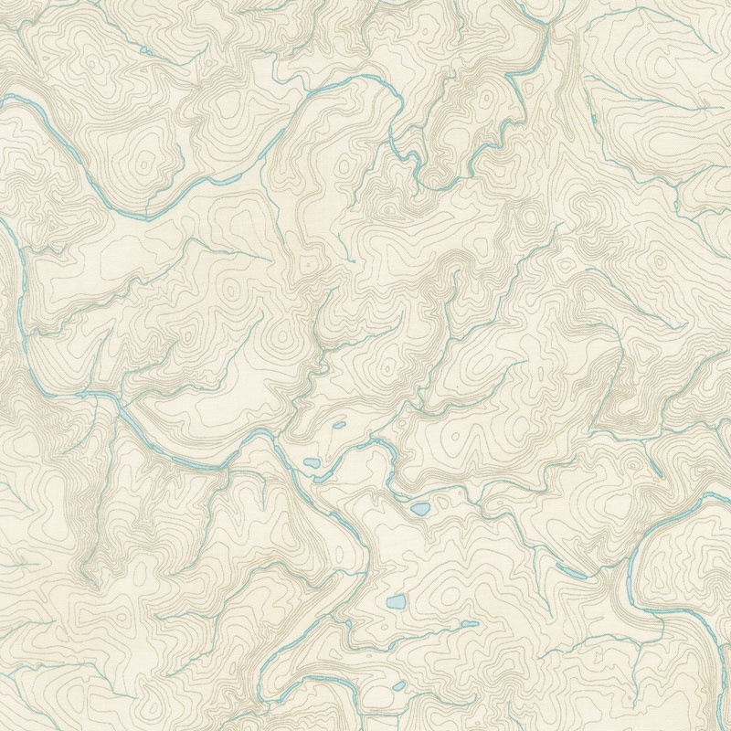 meridian topography cream yardage