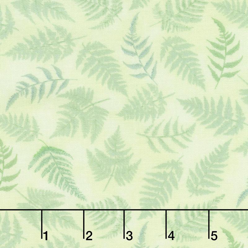 Papillon Parade - Fern Green Yardage