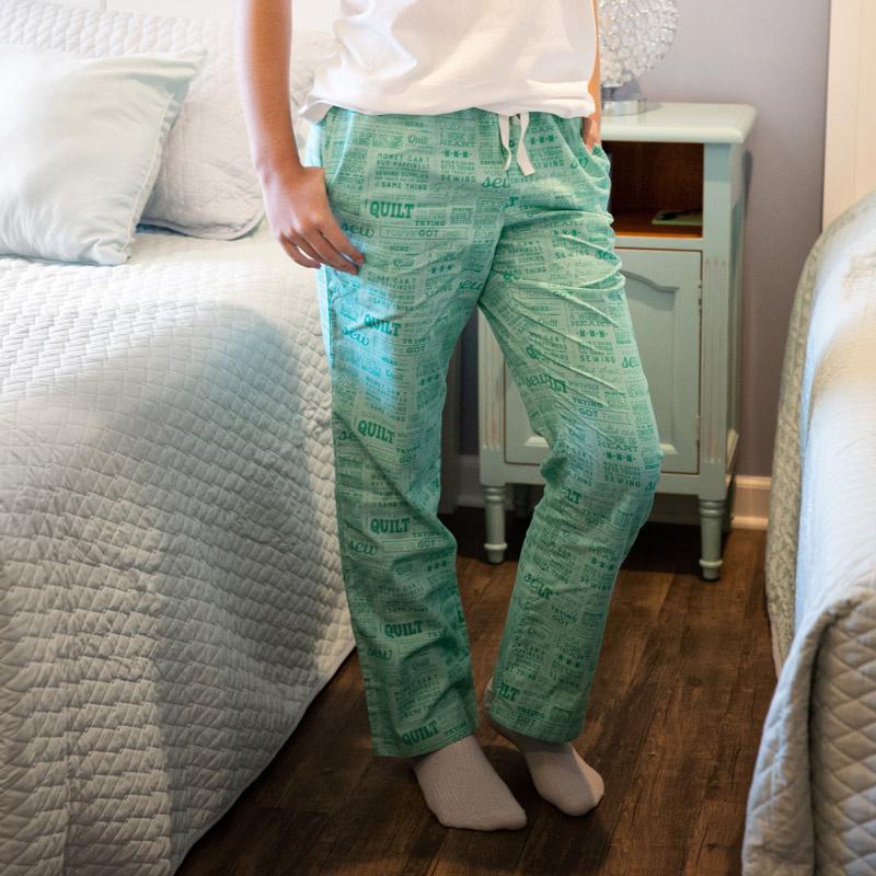 Missouri Star Pajama Bottoms - Jenny's Sayings 2XL
