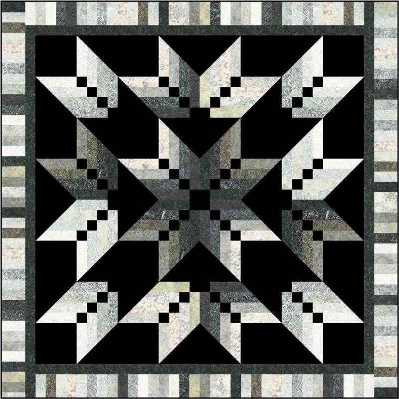 Missouri Star Tonga Graphite Binding Tool Star Kit