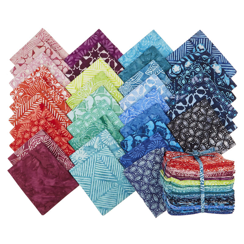 Calypso Batiks Fat Quarter Bundle