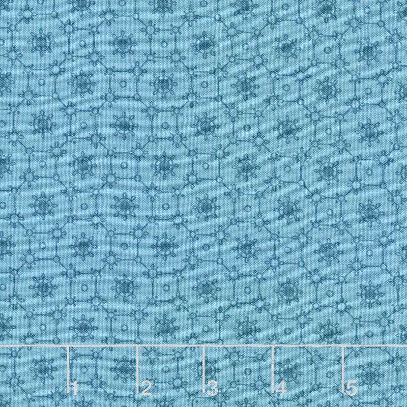 Royal Blue - Lace Azure Yardage