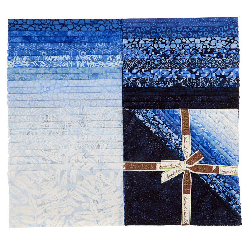 a6378f298d Blueberry Patch Batiks Stacks - Kathy Engle - Island Batik