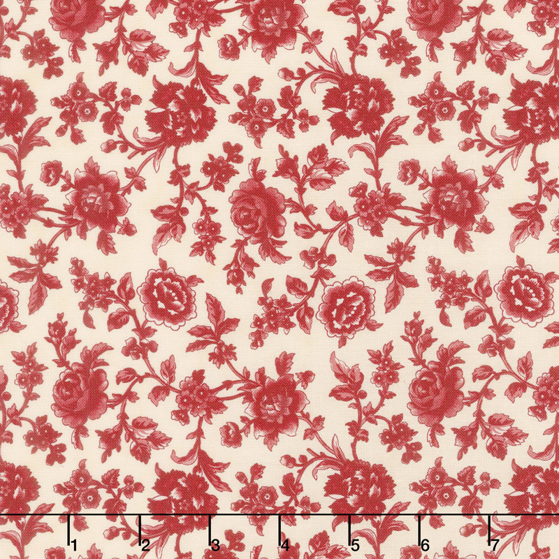 Cinnaberry - Bouquet Vanilla Cranberry Yardage