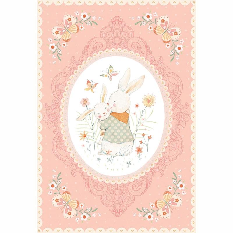 Bunny Tales - Bunny Pink Panel