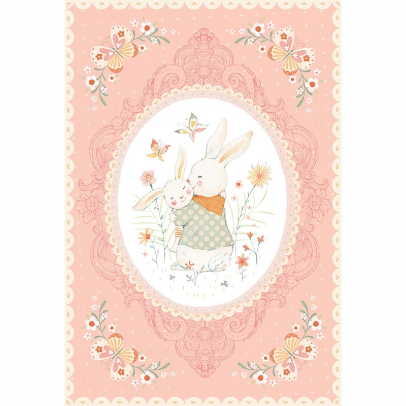 Bunny Tales - Bunny Pink Panel