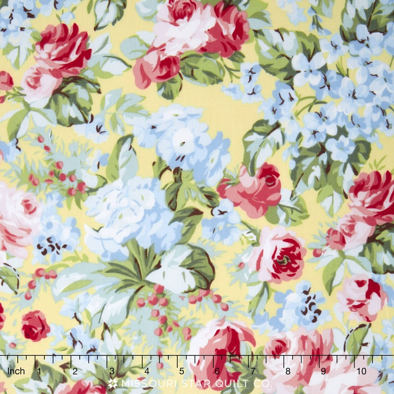 Simply Chic - Rose Garden Butter Yardage