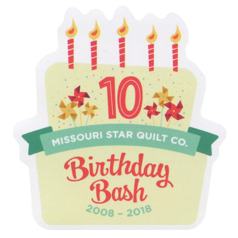 Missouri Star Birthday Bash 2018 Magnet