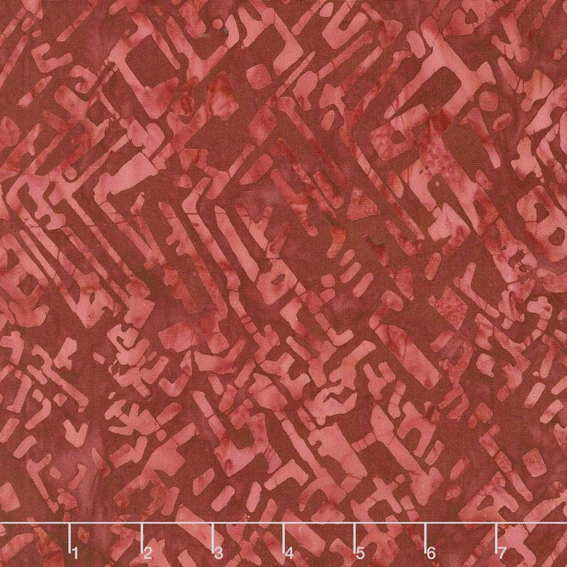 Tonga Batiks - United Maze Liberty Yardage
