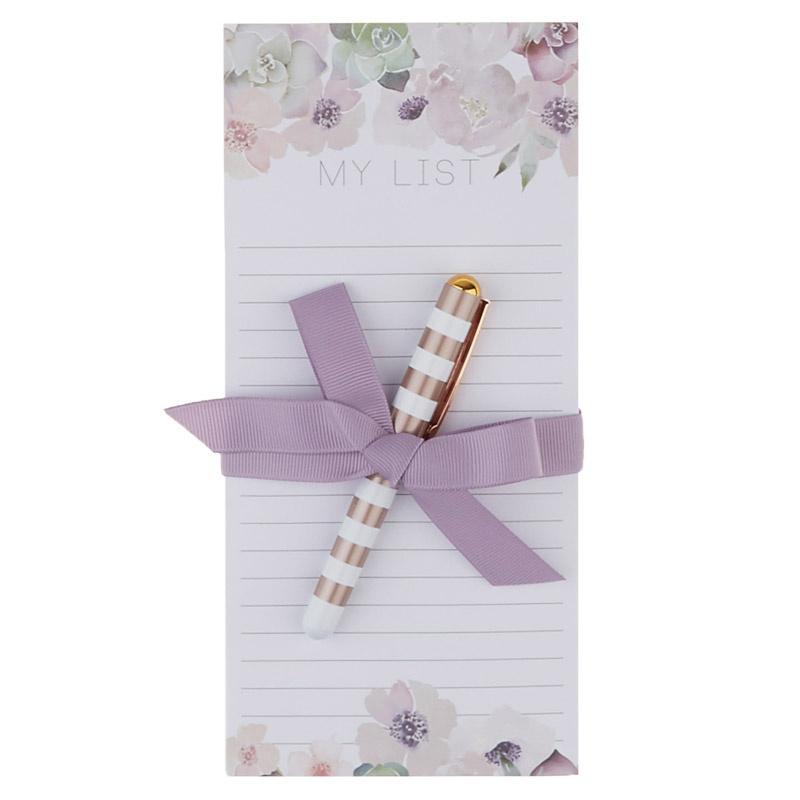 Lovely Garden Lovely Magnetic Listpad with Pen