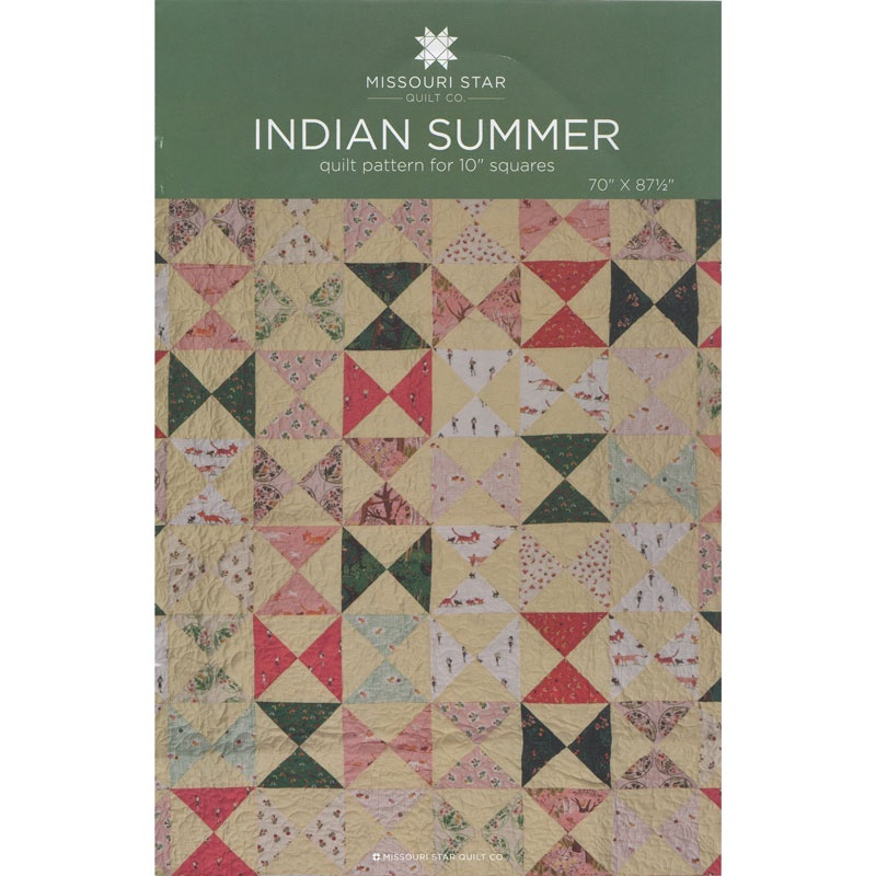 Indian Summer Quilt Pattern by MSQC - MSQC - MSQC — Missouri Star ... : indian quilt pattern - Adamdwight.com