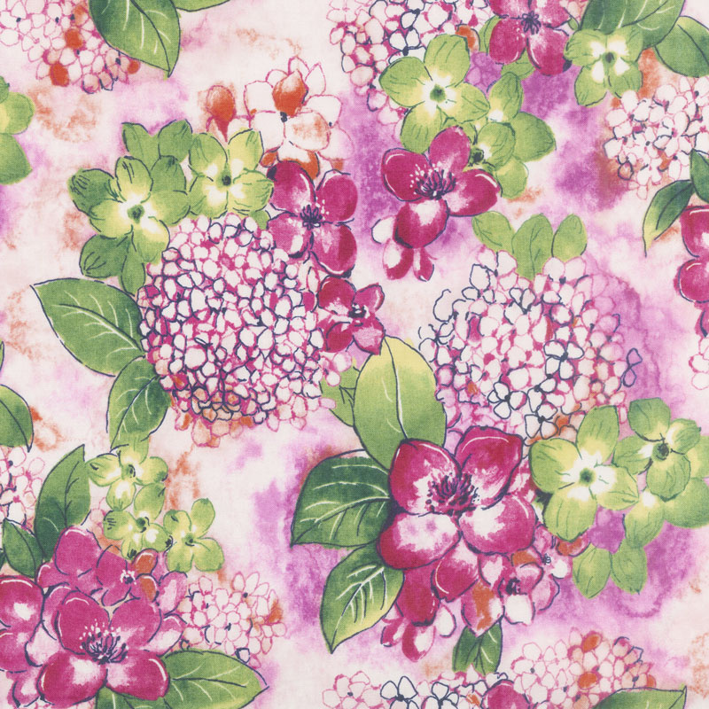 Petal Park - Where Flowers Bloom Sweet Pea Fabric Yardage
