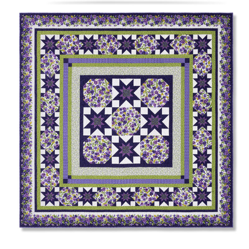 Blossoms & Stars Block of the Month