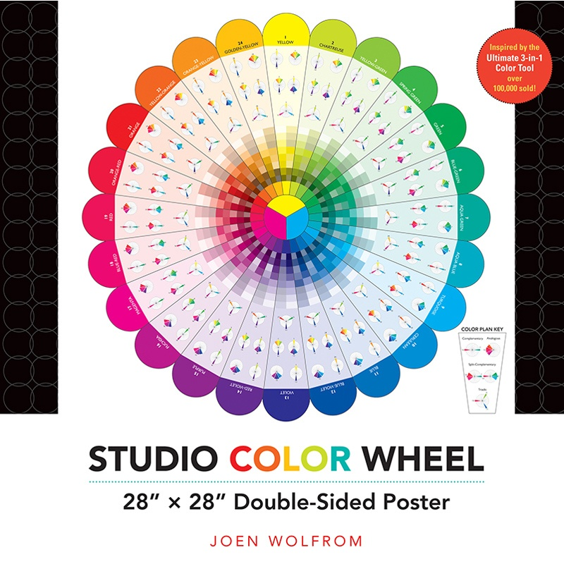 Studio Color Wheel Poster C T Publishing