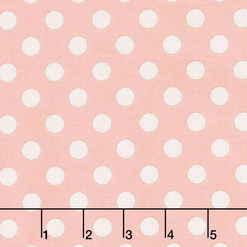 Bliss - Dots Blush Yardage