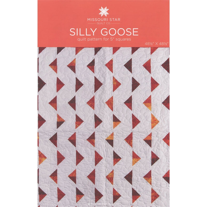 Silly Goose Pattern by MSQC - MSQC - MSQC — Missouri Star Quilt Co. : silly goose quilt pattern - Adamdwight.com