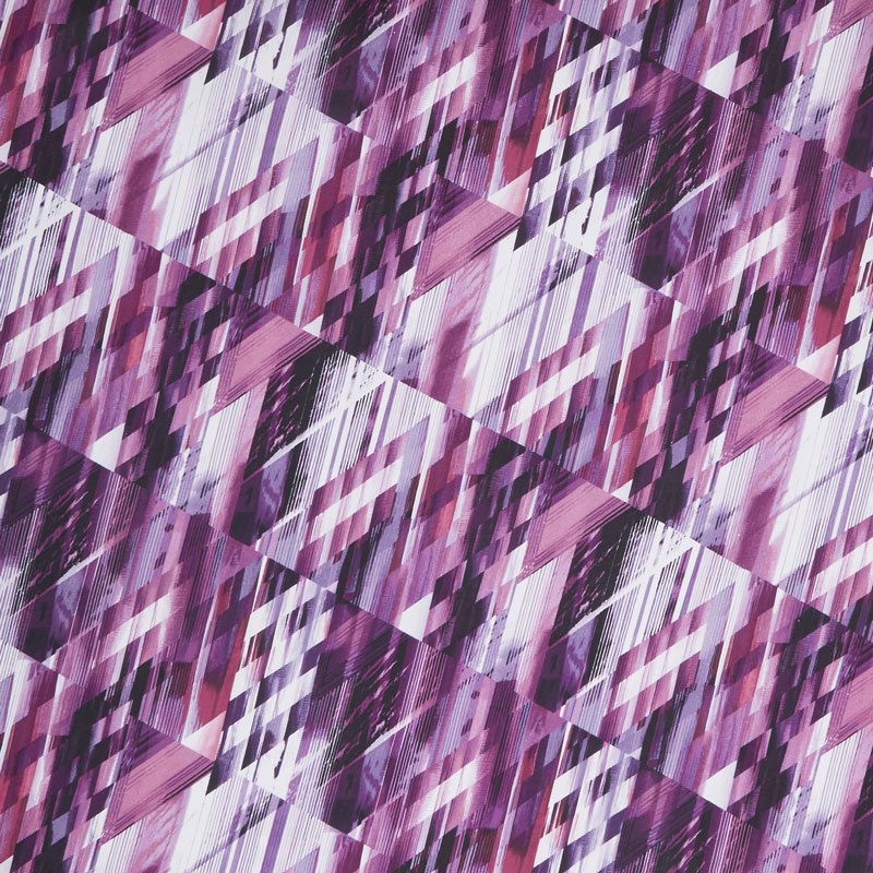Matrix - Purple Digitally Printed 108