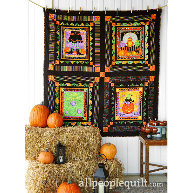 Witch Way Quilt Kit Backing