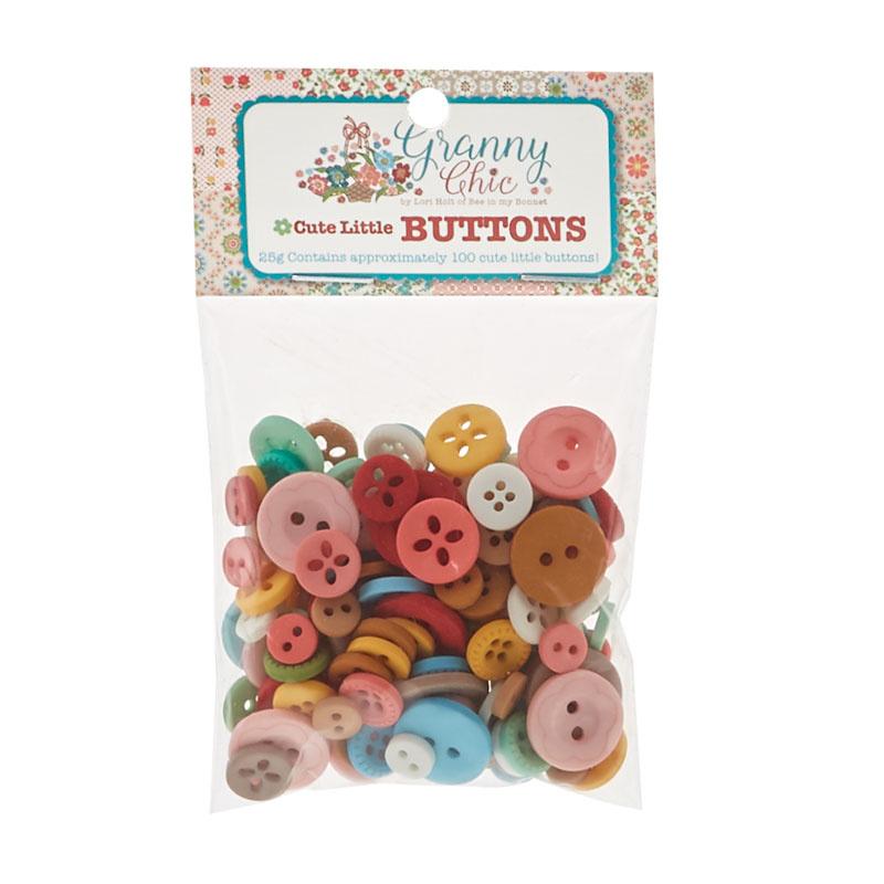 Lori Holt Granny Chic Cute Little Button Pack