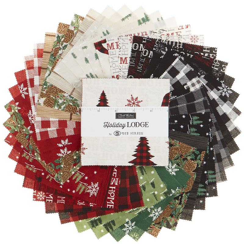 Holiday Lodge Charm Pack