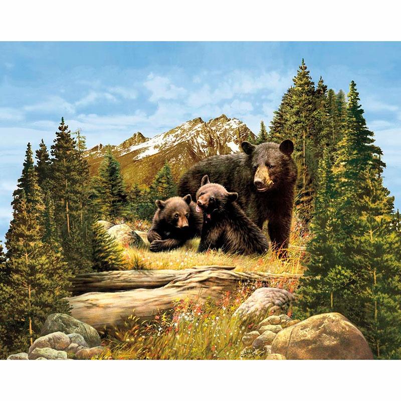 Majestic Outdoors - Majestic Bear Multi Digitally Printed Panel