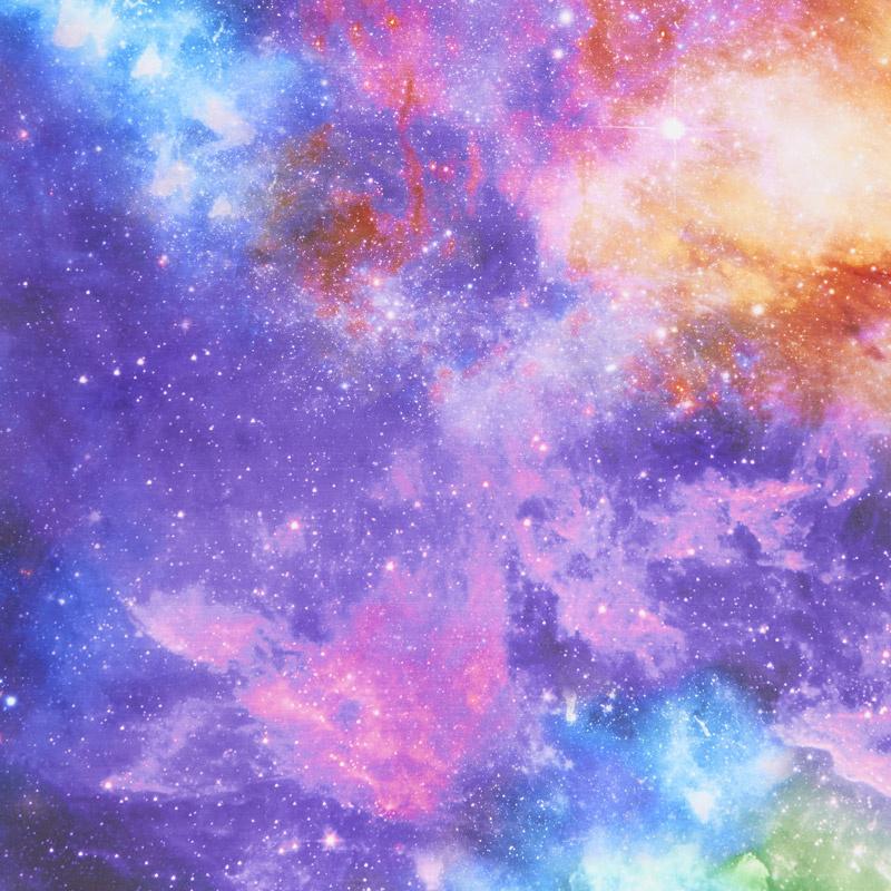 Artisan Spirit - Imagine Nebula Blue Digitally Printed Yardage