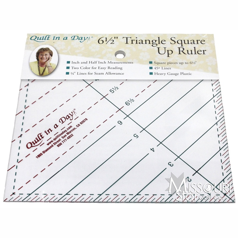 Triangle Square Up Ruler 6 1/2