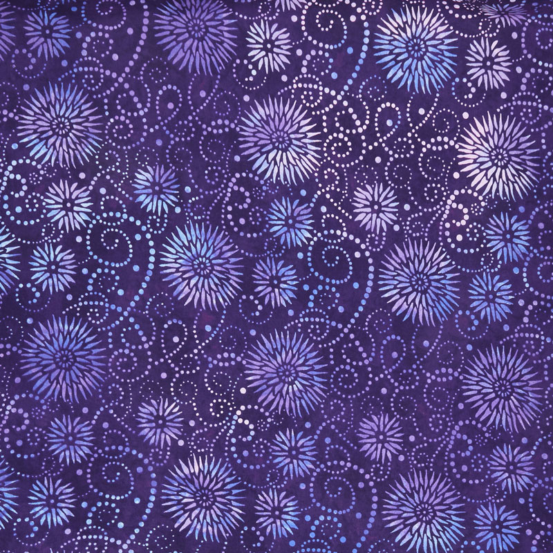 Wilmington Essentials - Flower Burst Purple 108