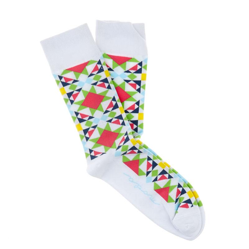 Star Quilt Socks