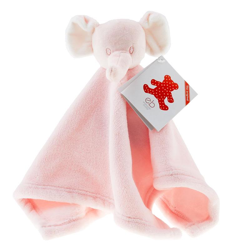 Mini Elephant Pink Blankey
