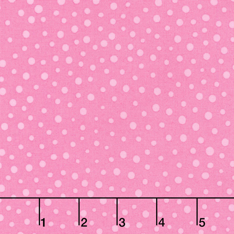 Flower Sacks - Dot Pink Yardage