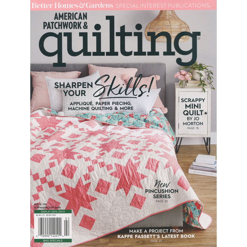 Better Homes & Gardens American Patchwork & Quilting (February 2019)