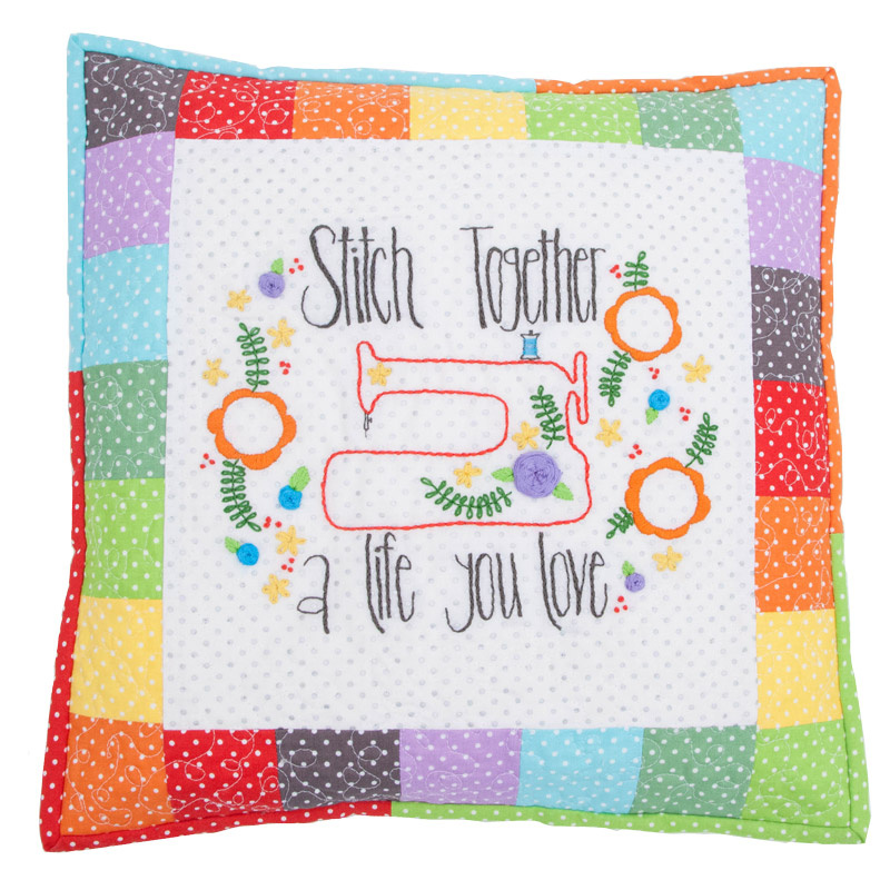 Amy Chapell's Stitch Together a Life You Love Embroidery Kit