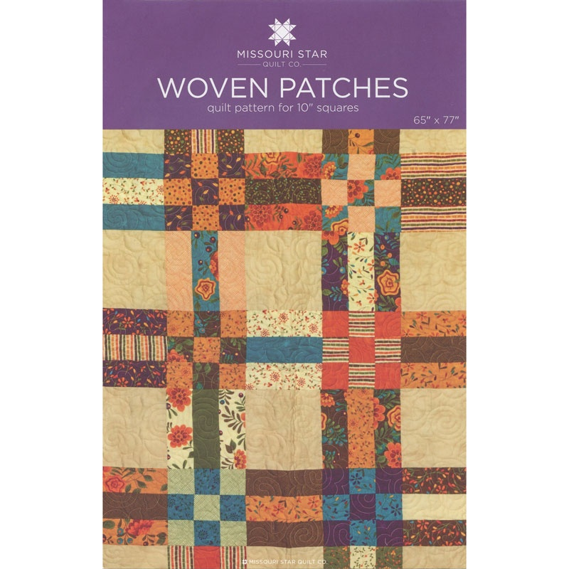 Woven Patches Quilt Pattern By Missouri Star Missouri