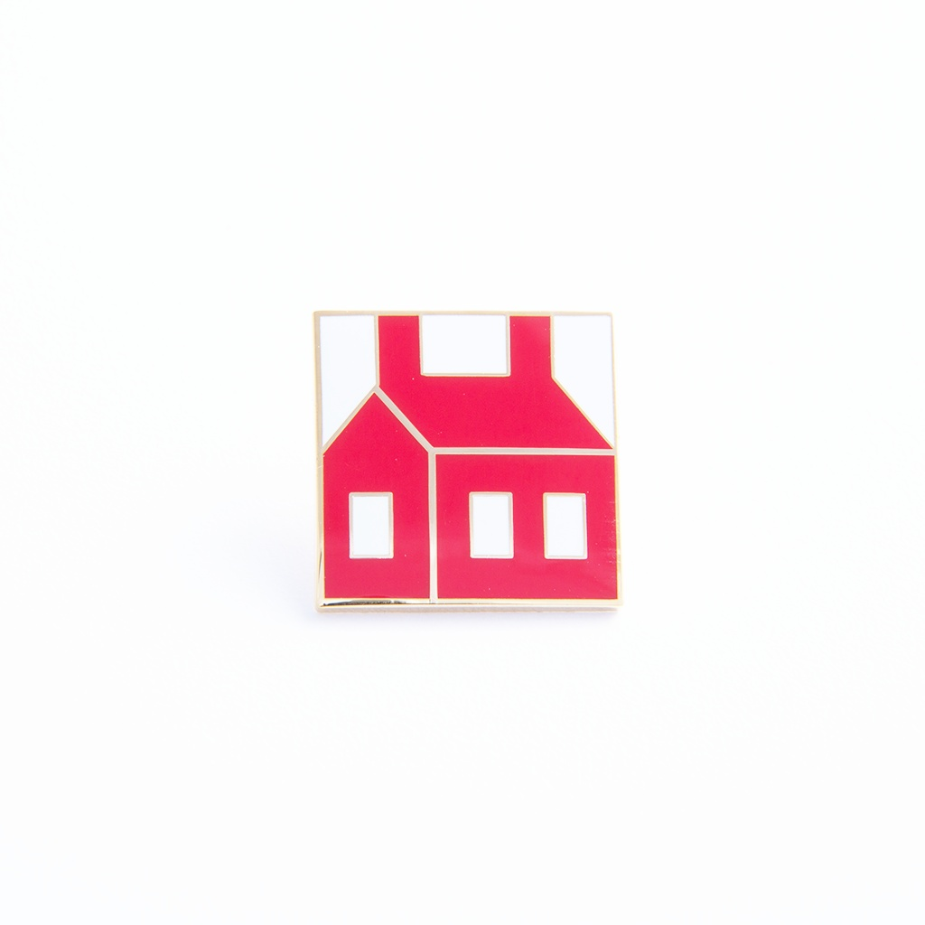 Little Red School House Pin