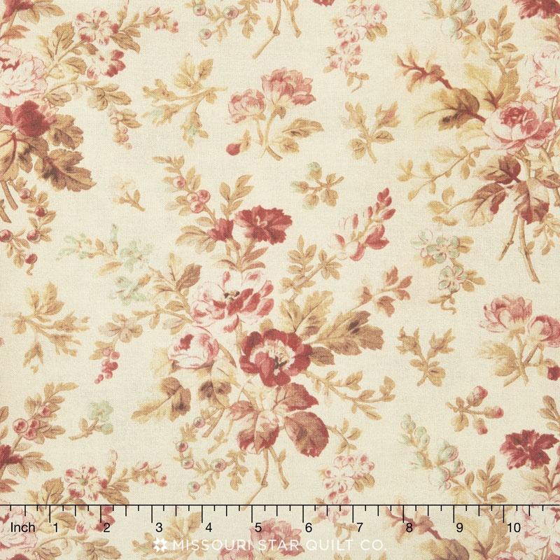 108 Quilt Back Floral Multi 108 Backing Whistler Studios