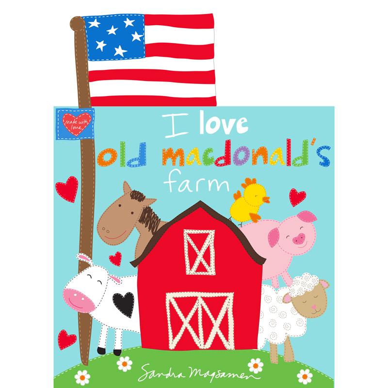 Huggable & Lovable Books - Macdonald's Farm Book Panel